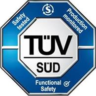 TUV SUD functional safety certification