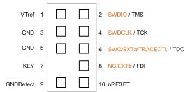 10-Pin Cortex Connector