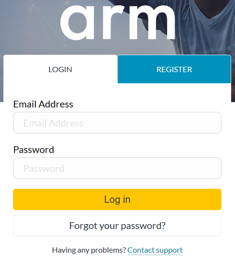 support.developer.arm.com log in